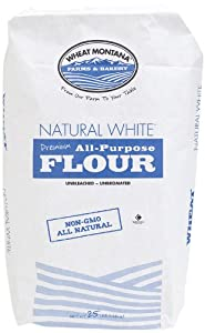 Amazon.com : Wheat Montana White Flour, Natural, 25 Pound