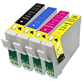 4 Epson 18 XL Series Compatible Ink Cartridges. Full set of T1816, including 1x T1811 Black, 1x T1812 Cyan, 1x T1813 Magenta and 1x T1814 Yellow