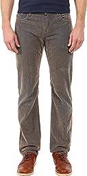 Robert Graham Men\'s Stroud Casual Woven Pant, Khaki, 38x34