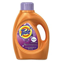 Tide plus Febreze Freshness Liquid Laundry Detergent, Spring & Renewal - 92 oz