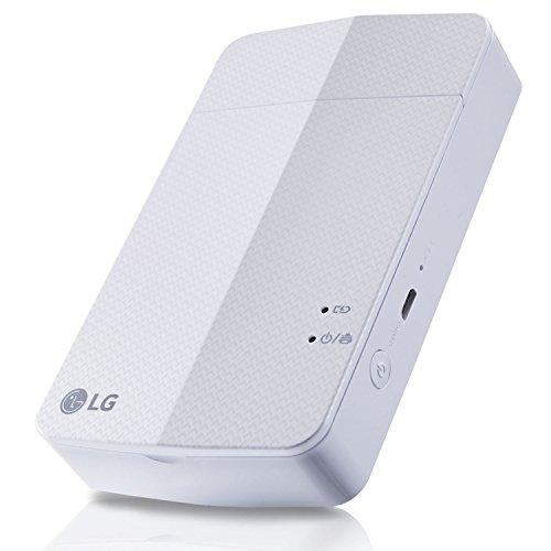 【国内正規品】LG Electronics Japan スマートフォン連動プリンター Pocket Photo ホワイト PD251W