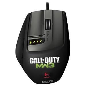Logitech G9X 罗技游戏鼠标 MW3限定版
