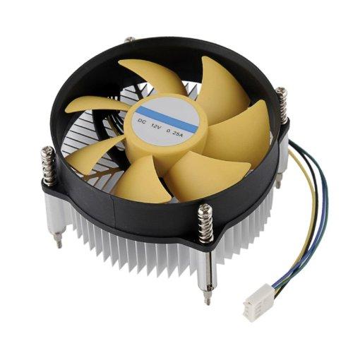 New 50W 100W Led Light Heatsink With Fan Aluminium Cooling For 50W/100W Led 12V