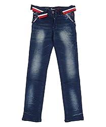 DUC Boy's Denim Dark Blue Jeans (kd01-db-36)