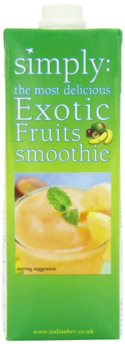 Simply Exotica Smoothie 1 L (Pack of 2)