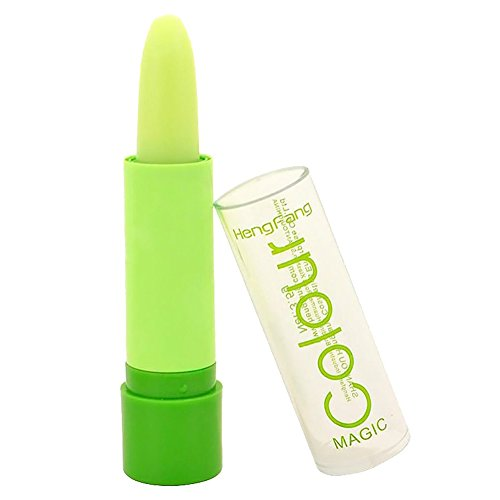 hengfang Green Case Waterproof Magic Fruity Smell Changeable Color Lipstick Lip Cream (Heng Fang Color Magic compare prices)