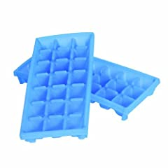Camco 44100 RV Mini Ice Cube Tray - 2 Pack