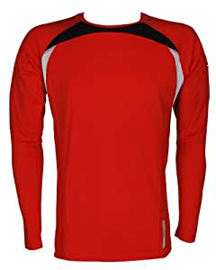 Asics Running Fitness Sportshirt L2 Crew Top Hommes 0679 Art. 521223 Taille L