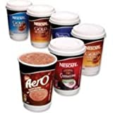 Nestlé Aero Instant Bubbly Hot Chocolate Drink 28g - Pack of 8