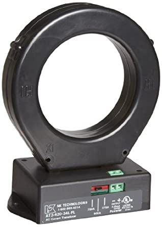 NK Technologies AT Series AC Current Transducer, Solid-core, FL Case Style