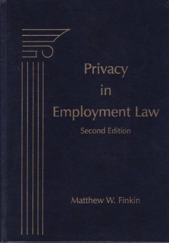 Privacy in Employment Law