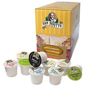 The Coffee Mixs 22 K-cup Van Houtte Sampler Guaranteed 22 Different Van Houtte Varieties Only From The Coffee Mix by The Coffee Mix, Keurig, K-cups, Tullys, Deidrich, Millstone, Folgers, Green Mountain, Timothys, Gloria Jeans, Van Houtte, Coffee People, D