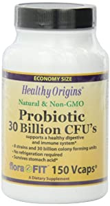 Healthy Origins Probiotic 30 Billion Cu's Shelf Stable, 150 Count