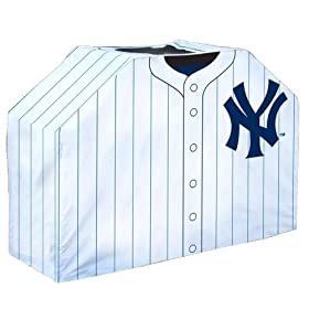 41x60x19.5 inch Grill Cover - New York Yankees
