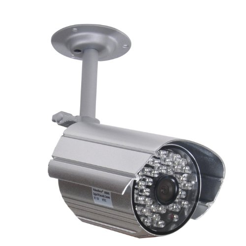 VideoSecu Day Night IR Audio Security Camera 36 Infrared LEDs Free Bracket for Home Surveillance IR806AS 1N3