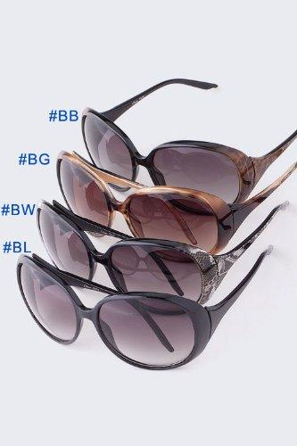 Men Fishing Sports Metal Arms Brown Full-rim Sunglasses
