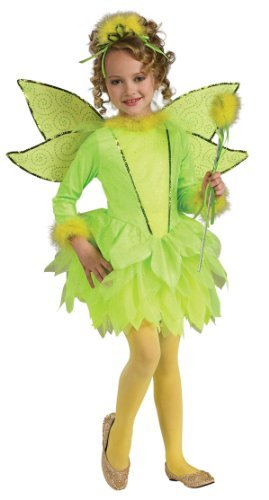 Delux (Deluxe Girls Lightup Tinkerbell Costumes)