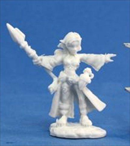 Reaper Miniatures 77031 Bones - Cassie, Gnome Wizard