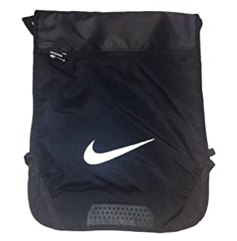 Amazon Com Nike Zipper Pouch Backpack Black Black Clothing