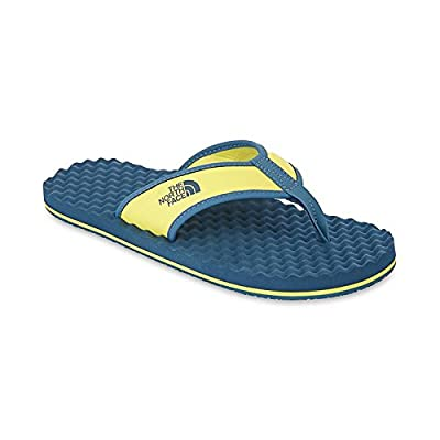 The North Face M Base Camp Flipflop Acid Yellow / Indian Tail Blue (US-Size)