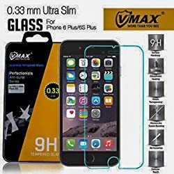 (2-Pack) iPhone 6/6S Screen Protector, Durable 2.5D Tempered Glass 9H hardness, Rounded edge, Anti-bubble, Anti-smudge, Sensitvie Touch