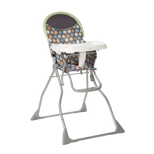 Find Bargain Cosco Slim Fold High Chair, Ikat Dots
