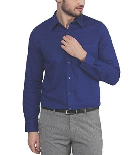 Paul-Wilson-Royal-Blue-Fine-Filafil-Cotton-Formal-Shirt-For-Men-PFS-53-D