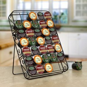35 Count K cup Storage Rack 35 - Wall, Drawer or Counter Mount