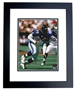 Chris Doleman Autographed Hand Signed Atlanta Falcons 8x10 Pro Bowl Photo - BLACK... by Real Deal Memorabilia