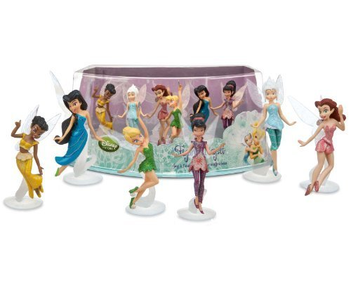 Disney Fairies Mini-Figure Play Set (Peter Pan Figurine Set compare prices)