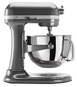 KitchenAid KP26M1XPM Professional 600 Series 6-Quart Bowl-Lift Stand Mixer, Pearl Metallic