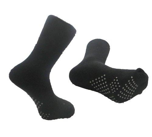 Men's Big Foot Thermal Non Skid Socks 11-13 4 Pairs