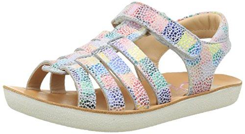 ShoopomGoa Spart - Sandali Bambina , Multicolore (Multicolore (Multi)), 28