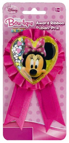 Disney Minnie Mouse Bows Confetti Award Ribbon - 1