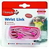 Clippasafe Wrist Link - Pink [Baby Product]