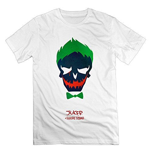 2016 Newest Suicide Squad Joker 100% Cotton Special T Shirt 2016 For Adult