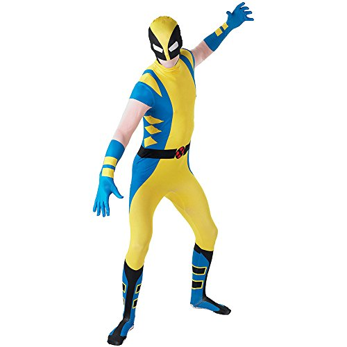 Rubie's Men's Marvel Comics Wolverine 2nd Skin Costume