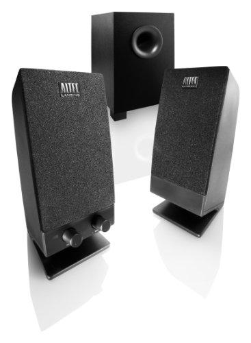 Altec Lansing Stereo Speaker System With Subwoofer For Laptops, Netbooks, Desktops, And Mp3 Players (Bxr1321)