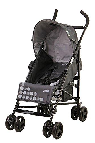 Mia Moda Facile Umbrella Stroller, New Carbon - 1