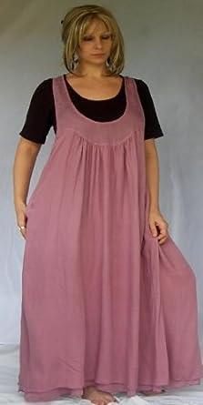 ROSE DRESS JUMPER MAXI LAYER LAGENLOOK - FITS - 2X 3X 4X - Q673S LOTUSTRADERS