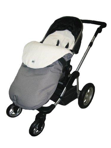 Stroller Snuggle Bag-waterproof-grey - 1
