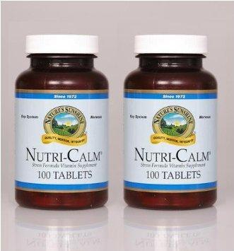 Naturessunshine Nutri Calm Supports Nervous System 100 Tablets (Pack Of 2)