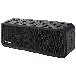 Sylvania Bluetooth Mini Speaker with Silicon Protective Cover, Black SP258-BLACK