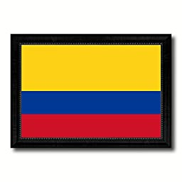 Colombia National Country Flag Print On Canvas Design Primitive Wall Art Home Decor Office Interior Souvenir Gift Ideas, 23\