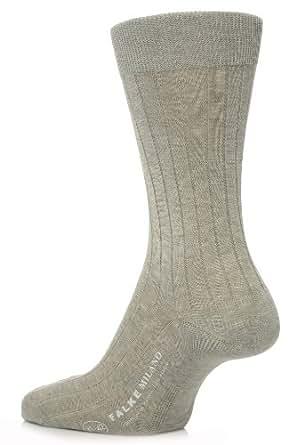 Falke Milano Mens Classic Socken hellgrau 39-40