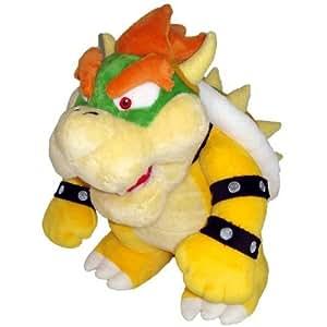 """Nintendo Official Super Mario Bowser Plush, 10"""""""