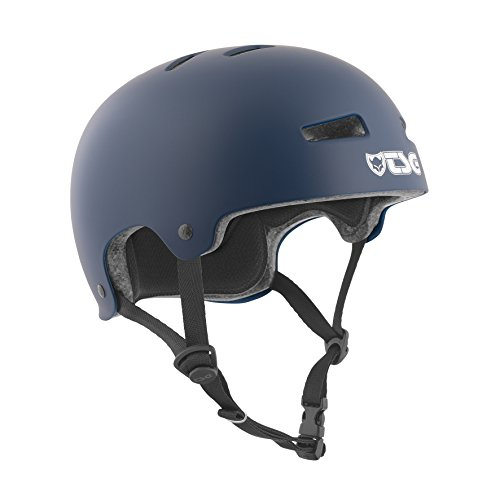 TSG Evolution CPSC Certified Skateboard Helmet (Blue, Small/Medium)