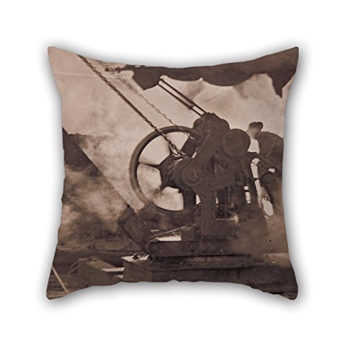 20 x 20 inches / 50 by 50 cm oil painting Tom H. Stoward - The steam winch pillow cases,2 sides is fit for kids room,relatives,home office,bench,car,pub (Weed Steam Rollers compare prices)