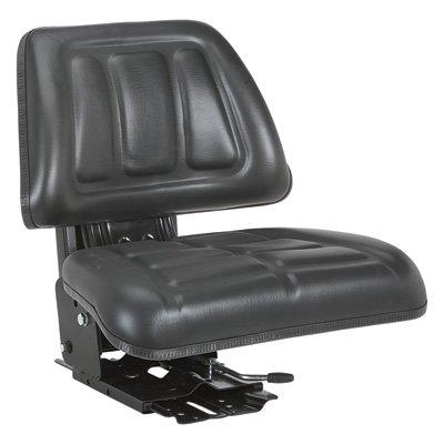 A & I Black Suspension Seat - Black, Model# T222BL