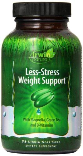 Irwin Naturals Less-Stress Weight Support, 75 Liquid Gel Caps